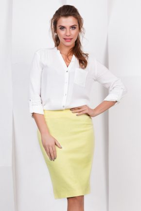 skirt-yellow
