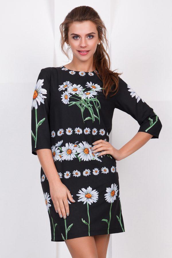 dress-daisy-black