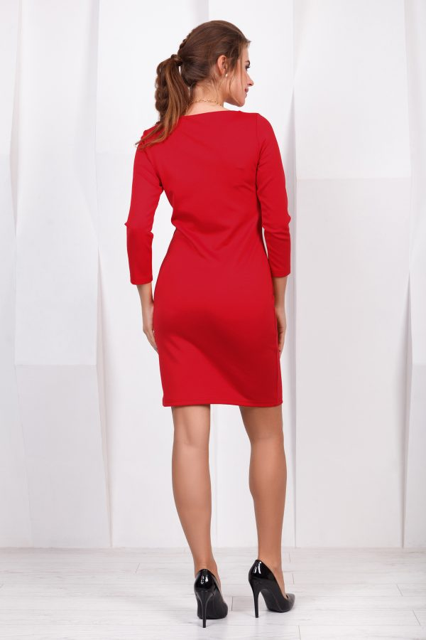 dress-red-back