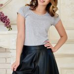 skirt-ecoleather