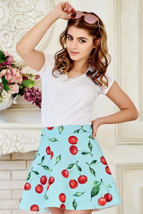 skirt-neopren-cherry