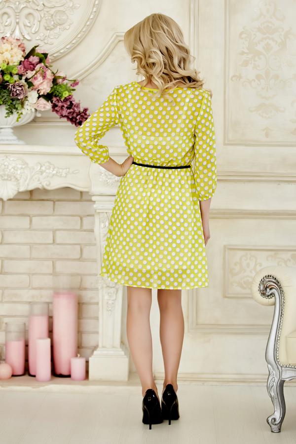 dress-chiffon-dots-back