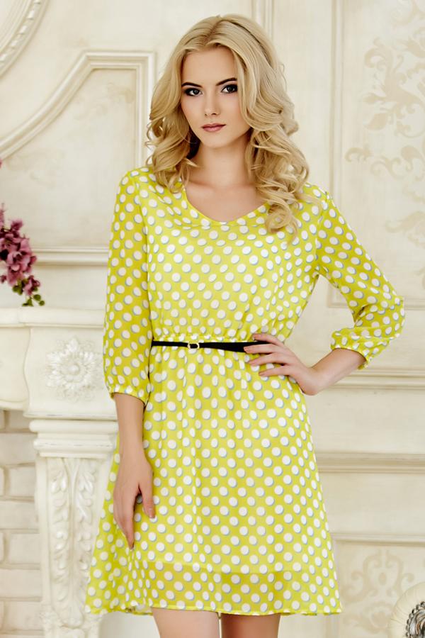dress-chiffon-dots