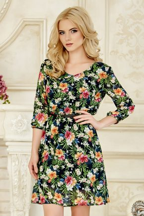 dress-chiffon-flowe