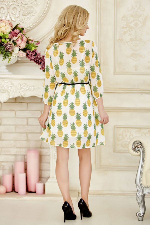 dress-chiffon-pinapple-back