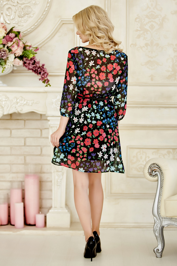 dress-chiffon-redfl-back