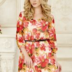 dress-chiffon-redflowers