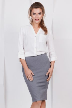skirt-pencil-grey