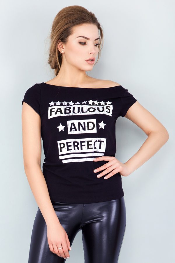 tshirt-black-fabulous