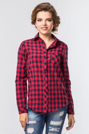 shirt-plaid-blue-red