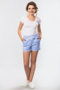short-linen-blue