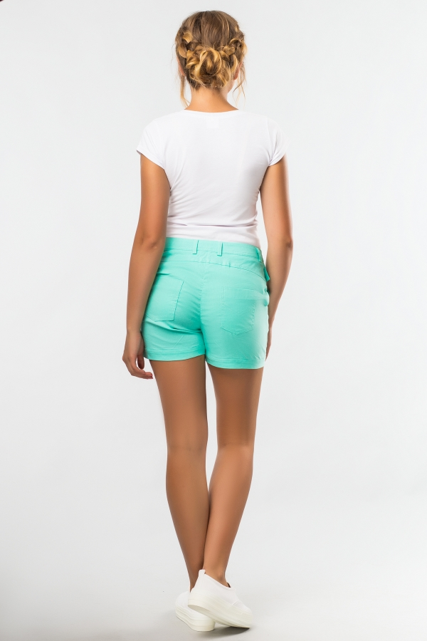 short-mint-back