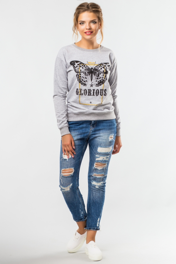 sweatshirt-glor-grey-half