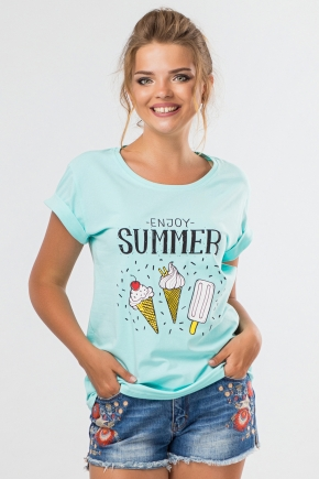 tshirt-mint-enjoy