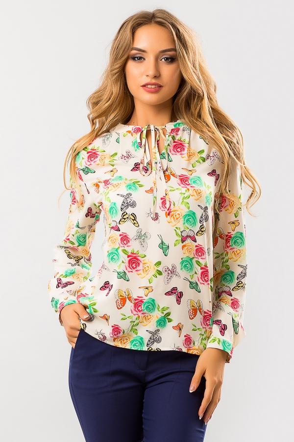 blouse-mint-butterflies