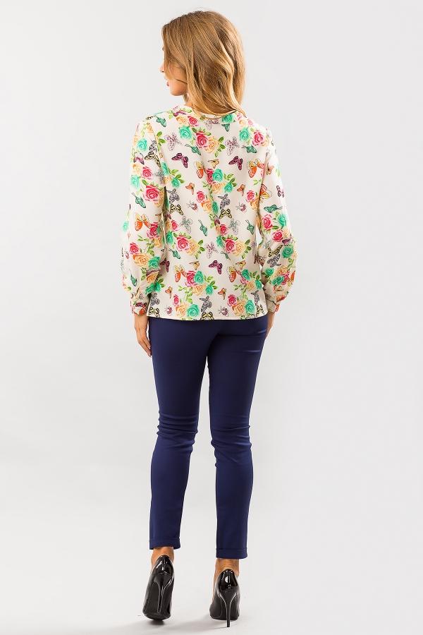 blouse-mint-butterflies-back