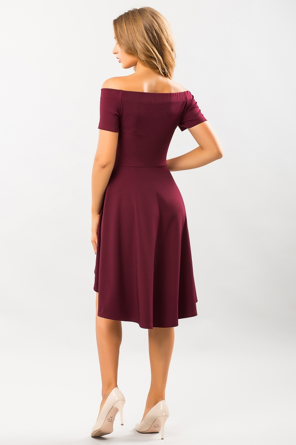 bordo-dress-naples-back