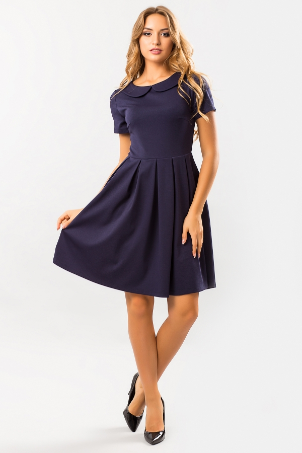dark-blue-dress-round-collar-full-2