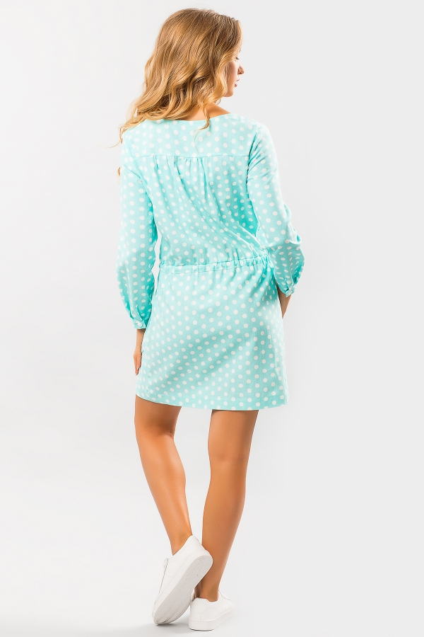 linen-dress-dot-mint-back