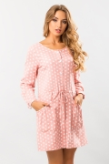 linen-dress-dot-rose