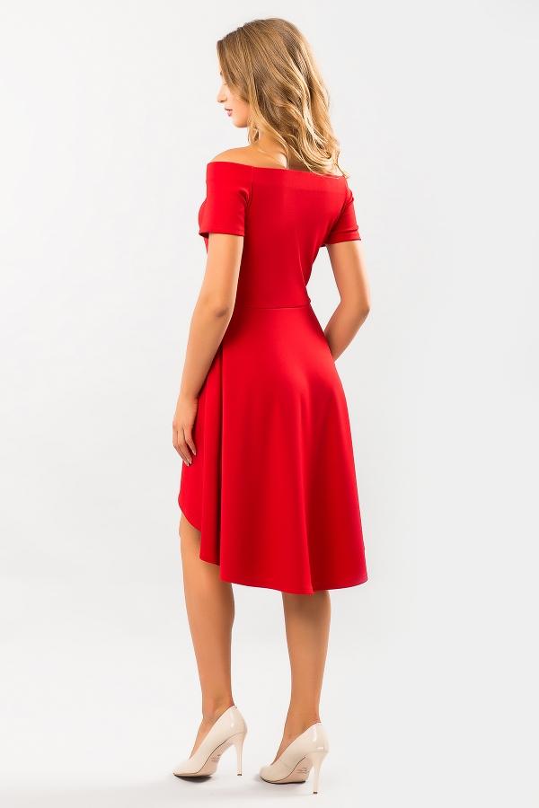 red-dress-naples-back