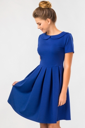 blue-dress-round-collar