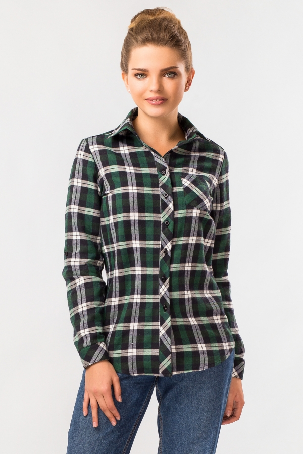 warm-plaid-shirt-green