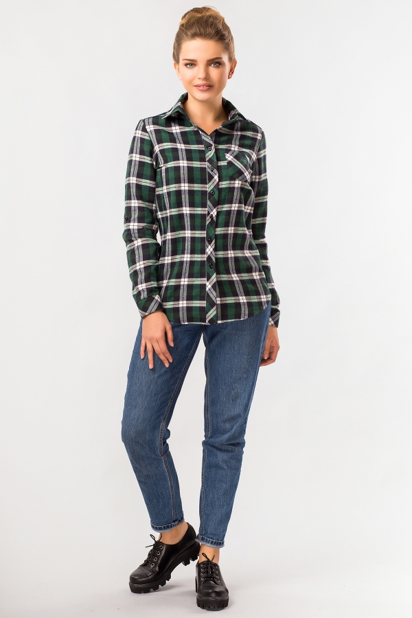 warm-plaid-shirt-green-full