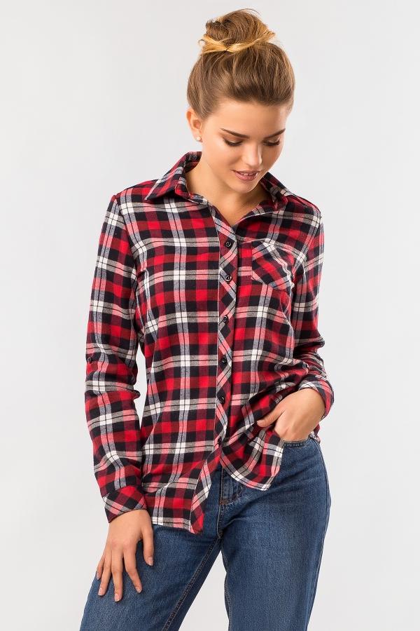 warm-plaid-shirt-red