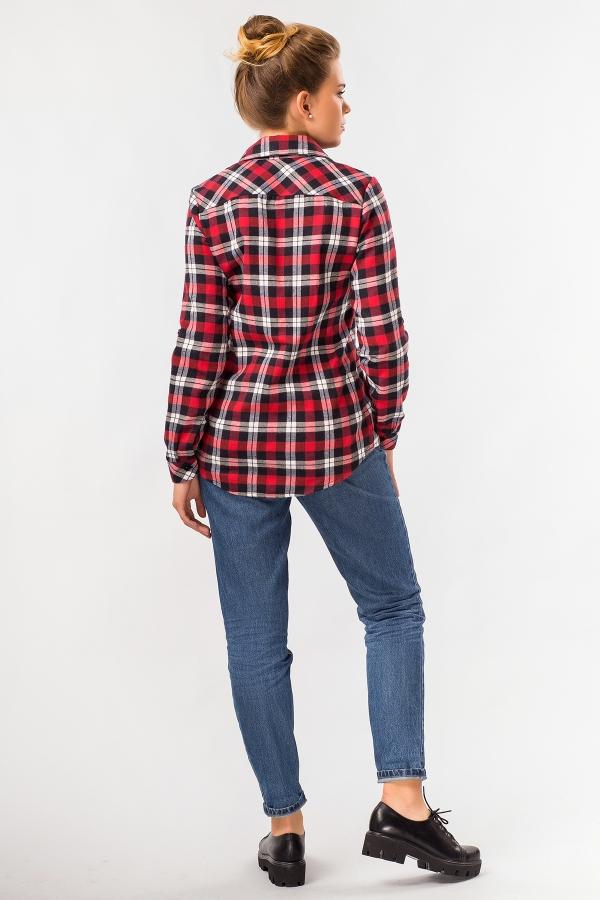 warm-plaid-shirt-red-back
