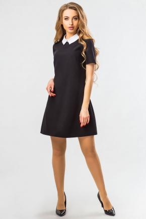 black-dress-white-collar