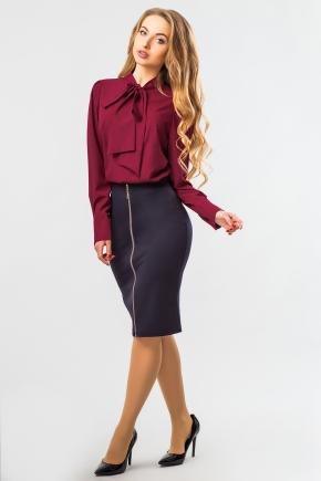 blouse-claret-tie