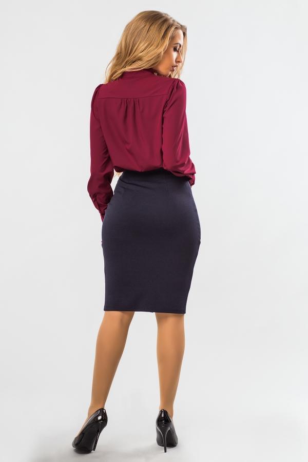 blouse-claret-tie-back