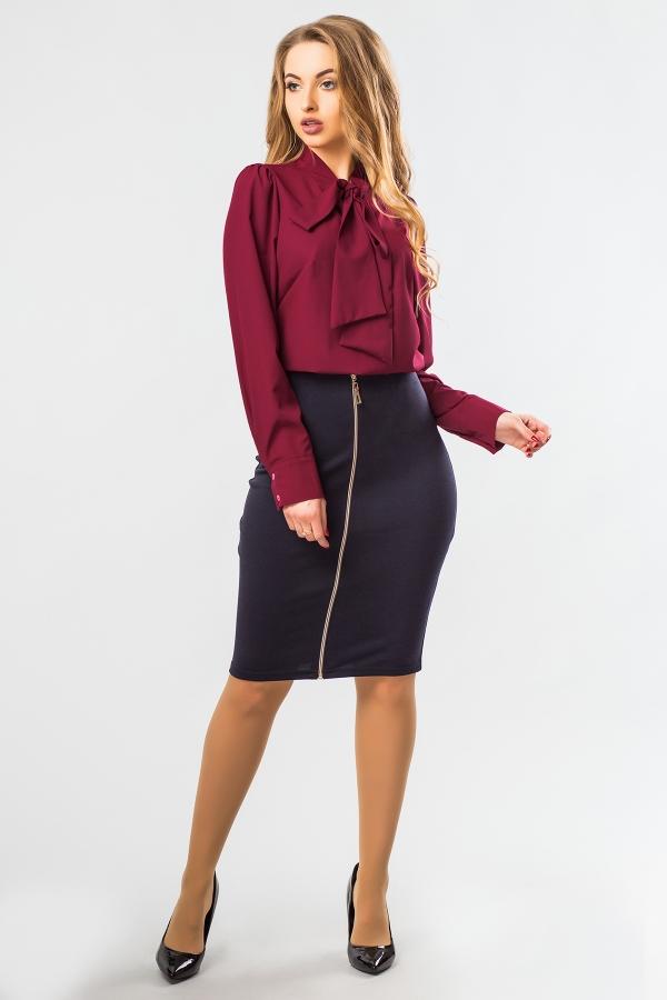 blouse-claret-tie-full