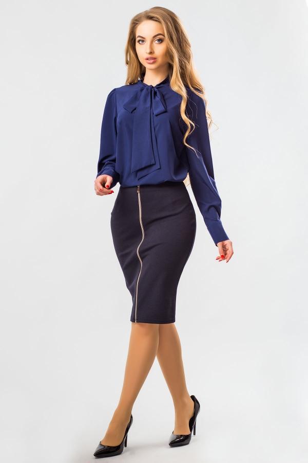 blouse-dark-blue-tie-half