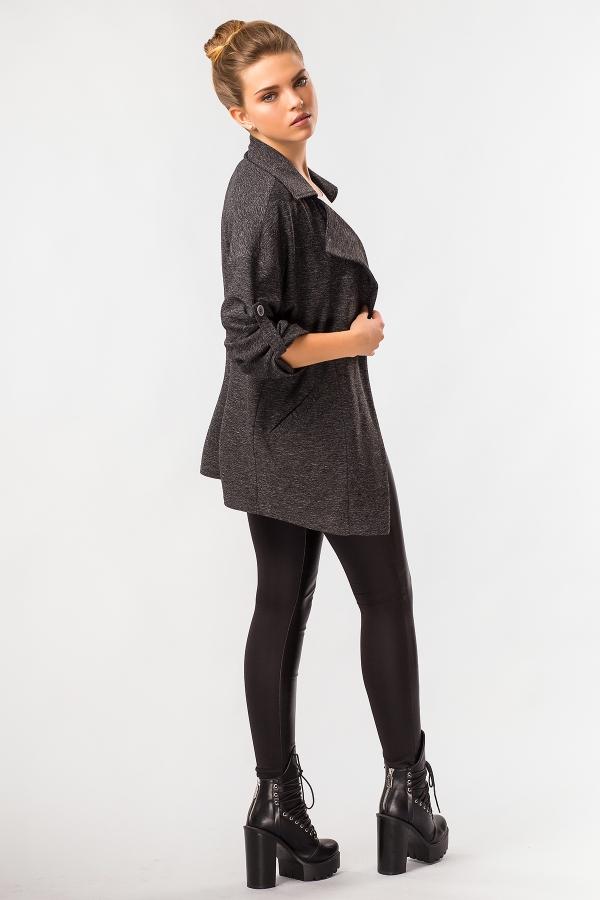 cardigan-black-melange-back