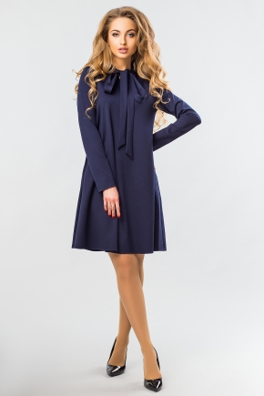 dark-blue-dress-with-tie
