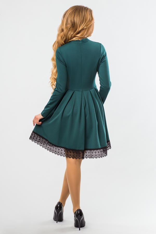 dark-green-dress-lace-back