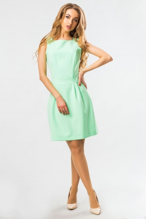 dress-without-sleeves-mint-color