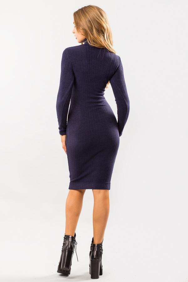 golf-dress-dark-blue-color-back