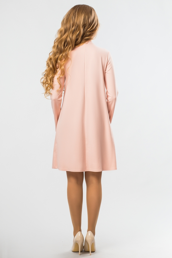 peach-dress-tie-back