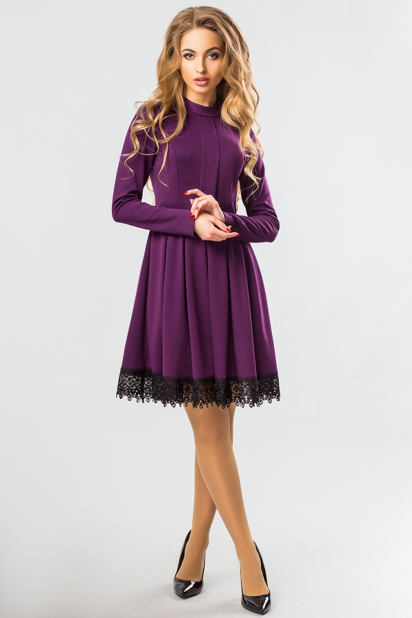 purple-dress-lace