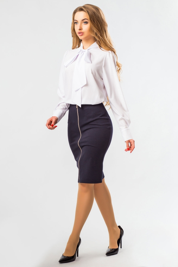 white-blouse-with-tie-half