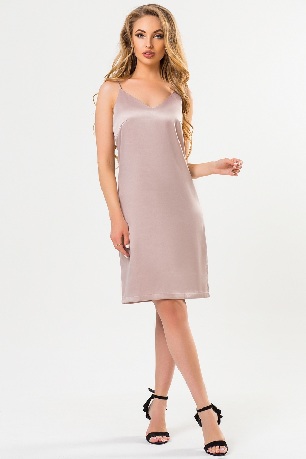 satin-dress-beige