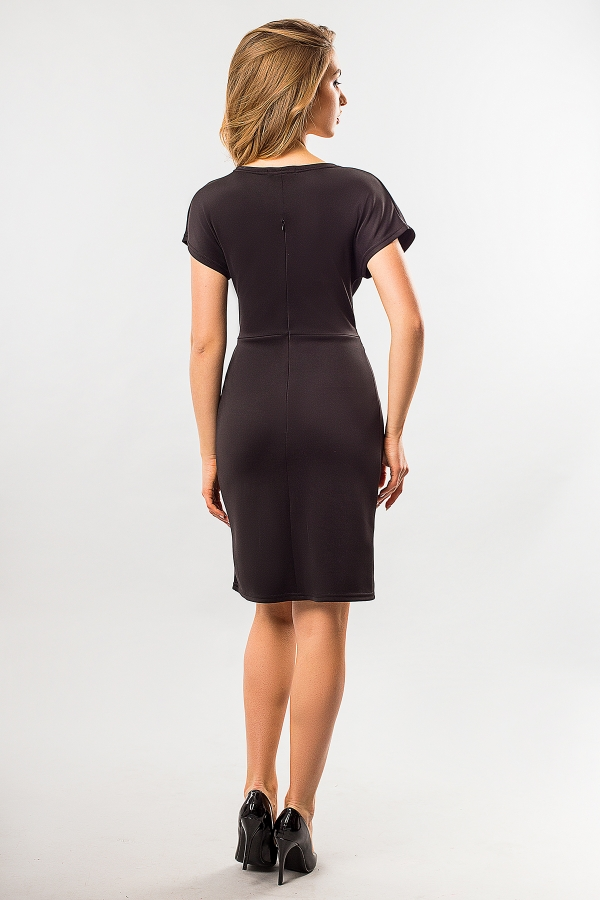black-dress-with-buckle-back