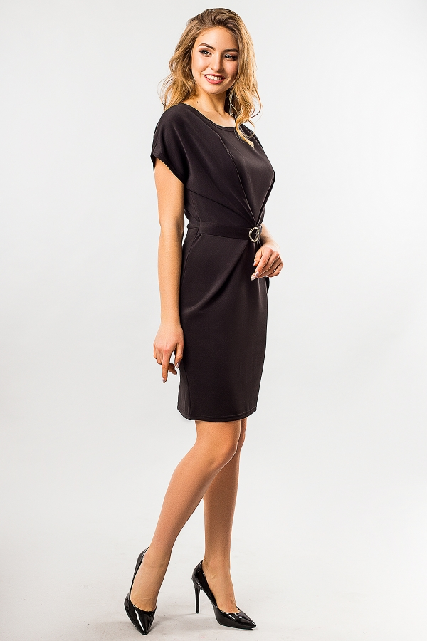 black-dress-with-buckle-half