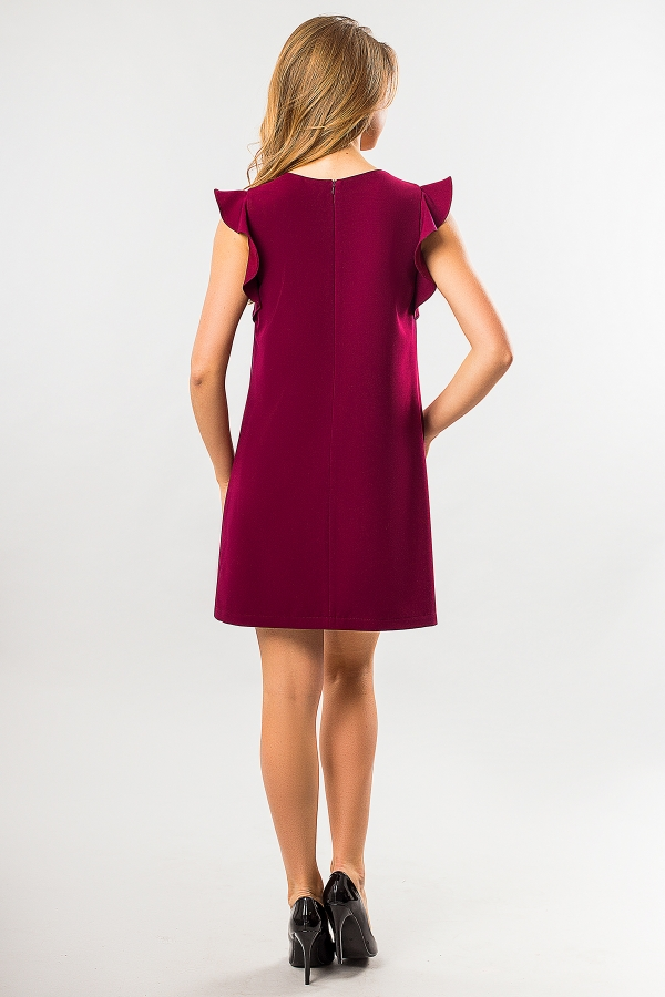 bordo-dress-with-flounces-back