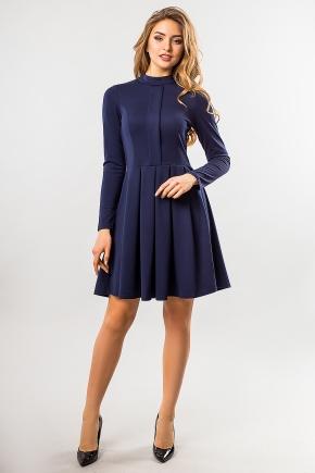 dark-blue-dress-fold-and-stand