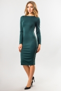 dark-green-dress-with-side-zip-full