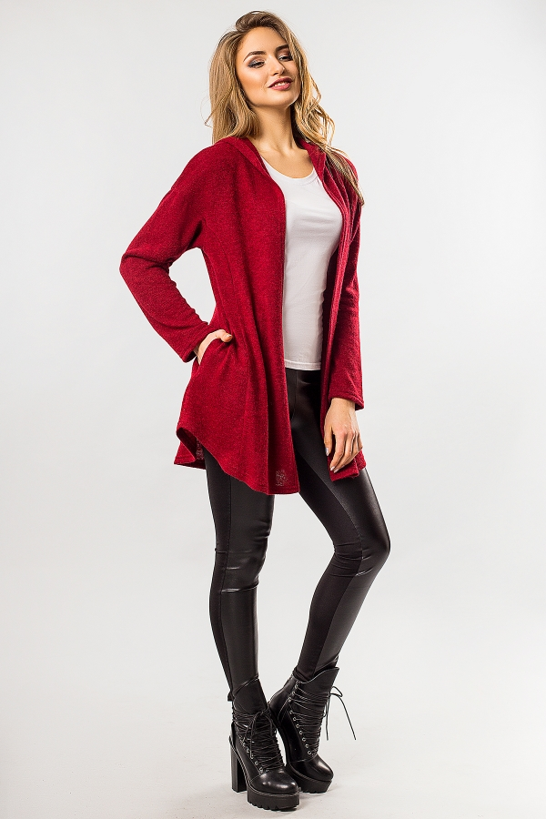 dark-red-cardigan-with-hood-half